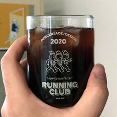 [퍼디] 러닝클럽 내열유리 컵