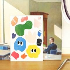 [BFMA] 벌룬프렌즈 에피소드 포스터(A3, A4) - 시그니쳐패턴
