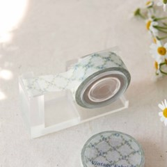 Vintage Fabric Masking Tape [Bluebell]
