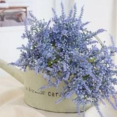 달콤 블루 라벤더 6송이 한 묶음 - 인테리어조화