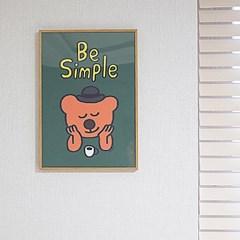 굴리굴리 포스터 / BEAR TIME L (036)