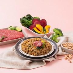 [굽네x듀먼] 맛있는 강아지자연식 소고기&채소 오리지널 100g