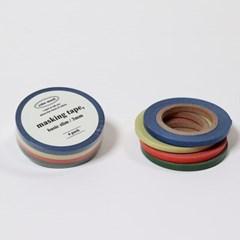컬러 무드 마스킹 테이프 (4개 세트)