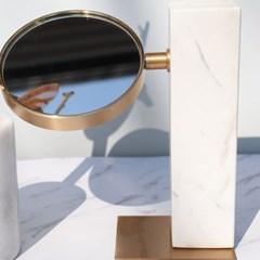 마블장식품 대리석 골드 스탠드거울 탁상거울 인테리어소품