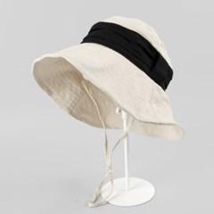 [베네]플리츠 라인 챙와이어 모자