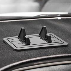 논슬립 와이드 차량용 거치대 (블랙)
