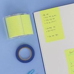 그리드 모눈 메모롤 테이프 50mm_(1794925)