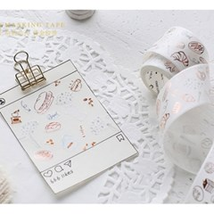 [cardlover] Romantic holiday Masking Tape 2종