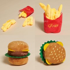 Hamburger&French fries