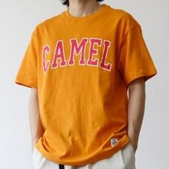 CM 남성 레터링 프린트 반팔 티셔츠 3color