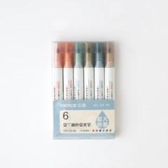 [VIENCE문구] 빈티지컬러 형광펜 셋트 2종
