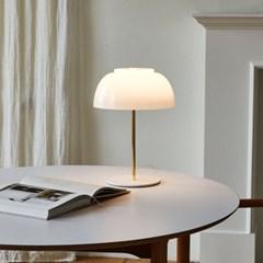 루미르R 테이블램프 유리 유광(LED 유리 소재 무드등 / 4단계 밝기조