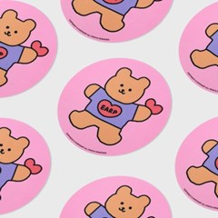 pink Bear heart(마우스패드)_(1557040)