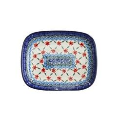 리넥 폴란드명품그릇, [2020년new 패턴] 라운드 사각접시