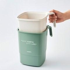 [한샘] 핸디 음식물 쓰레기통_4L_(988243)