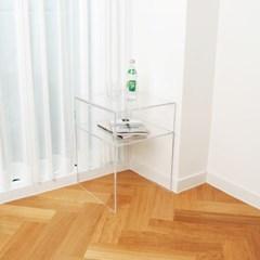 투명 아크릴 협탁 테이블