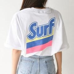 데일리룩 루즈핏 여름옷 프린팅 나염 박시 반팔티