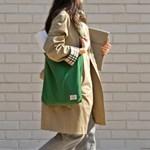 Reversible twoway bag_Forest green
