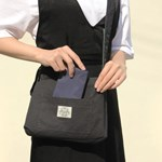 Reversible twoway cross bag_Forest green