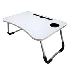 빠띠라인 미니 접이식 테이블 베드테이블 컵홀더타입