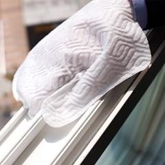 먼지냠냠 정전기 먼지털이 청소포 글러브형 10매
