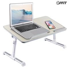 OMT 접이식 각도 높이조절 좌식 노트북 테이블 책상_(1524180)