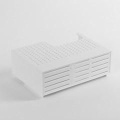홈드림 벽걸이 접착식 물빠짐 수납함/접착패드증정