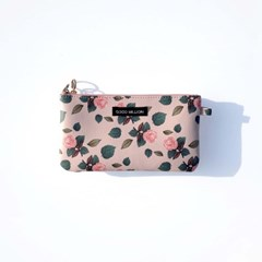 twozipper wallet  Rose lightpink