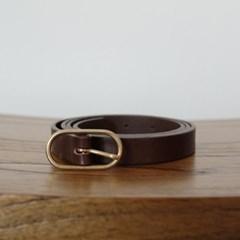 Basic Belt_Choco [YA100_CC]