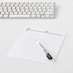 마그네틱 데일리 보드 - 데스크보드 / 일정관리 / 메모 / 냉장고자석