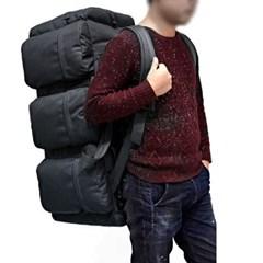 90L 콜럼 블랙 대용량 더플백 여행가방 백팩