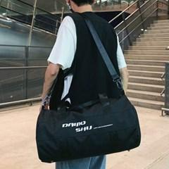 캐주얼 블랙 신발수납 더플백 스포츠가방