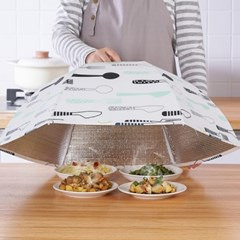 위생보관 음식덮개 원터치접이식 보온푸드커버 Buffet_(1188206)