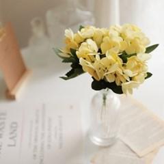 플르다 챠밍 수국 인테리어 꽃 조화