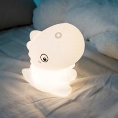 레토 실리콘 터치 무선 LED 공룡 무드등 7컬러 LML-DI17
