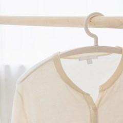 라이프썸 라운드핏 옷걸이 화이트 5P (LFS-SS02)