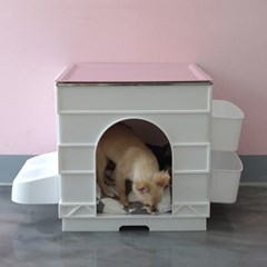 큐브 펫하우스 강아지집 고양이집