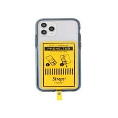 폰 탭 옐로우 아이폰 11 시리즈 케이스_(1847220)