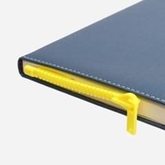 책이랑 옐로우 지퍼 디자인 책갈피 북마크