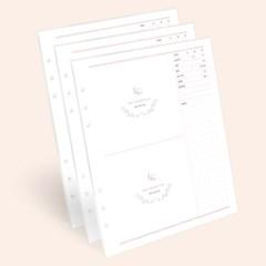 마더스 다이어리 리필 내지-초음파앨범(30P)