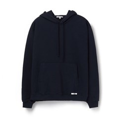[에이카 화이트]FINEST COTTON PULLOVER HOODIE-DEEP NAVY