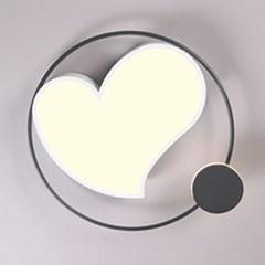 boaz 우주하트 방등(LED) 홈 디자인 카페 인테리어 조명