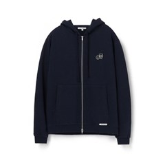 [에이카 화이트]NOTE ZIP UP HOODIE-DEEP NAVY
