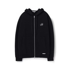 [에이카 화이트]NOTE ZIP UP HOODIE-BLACK