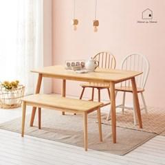 원목감성 식탁 겸 테이블 1480 AD002_(2617796)