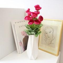 로사 라넌큘러스꽃 인테리어 조화부쉬(5color)