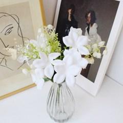 부바르디아 은방울 조화꽃 인테리어 조화장식