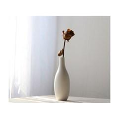 마유 화이트 꽃병