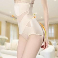 여성보정속옷 뱃살 허리 군살정리 엑스라인 뒤트임속옷