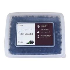 [비봉농원] 국내산 100% 냉동아로니아 (1.3kg) 수작업따기, 버블세척